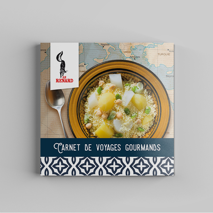 Publication livret recettes pour les semoules et couscous Le Renard