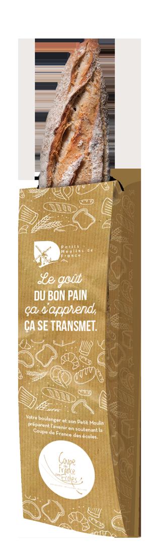 sac baguette Coupe de France des écoles de Boulangerie Viennoiserie Pâtisserie